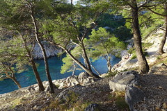 Calanques (denismartin) Tags: cliff creek marseille climbing limestone provence cassis mediterraneansea calanques calcaire slacklining mediterrane denismartin gr98