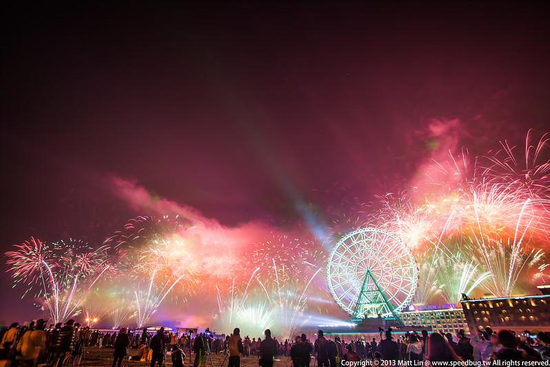 2014 Midnight Fireworks: Kaohsiung E-DA World, Taiwan 高雄義大世界跨年煙火 06
