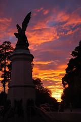 DSC_5793 (yolis_92) Tags: madrid sol angel relax atardecer nubes puestadesol turismo retiro caido angelcaido