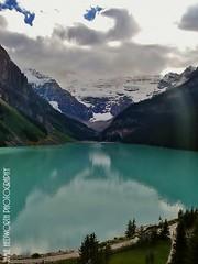 Lake Louise & Victoria Glacier (Jamie Hedworth) Tags: lake canada mountains nature water glacier alberta lakelouise banffnationalpark chateaulakelouise victoriaglacier jamiehedworthphotography