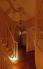 Dickens By Candlelight_07 (sjnewton) Tags: uk family england house london home nikon glow literary january writer candlelight dickens author atmospheric 2014 londonist d600 28mmf28d dickensmuseum doughtystreet
