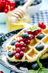 breakfast : waffles with fresh berries (gorobina) Tags: morning blue red stilllife food white black coffee closeup fruit breakfast dessert golden yummy still healthy strawberry berry natural sweet cream tasty plate nobody fresh stack sugar gourmet delicious crispy blueberry eat honey snack meal pastry raspberry belgian syrup treat taste wafer waffle isolated freshness ripe nutrition selectivefocus prepared readytoeat