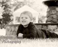 Trevin (star05fish) Tags: park portrait bw trevin 5yearsold boychild 2013