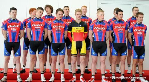 Ploegvoorstelling Davo Cycling Team (65)