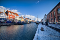 (szk_a) Tags: street travel port copenhagen denmark nyhavn town sony sigma newport 1224mm shorttrip slta99v
