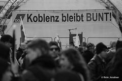 Koblenz bleibt bunt (focaliser) Tags: politik nazi protest demonstration blockade polizei koblenz neonazi rheinlandpfalz antifa naziaufmarsch aufmarsch antisemitismus antirassismus antiantifa christianworch neonazidemo svenskoda dierechte parteidierechte antifablockade aktionsbüromittelrhein landgerichtkoblenz dierechterlp dierechterheinlandpfalz