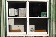 14-1382 (George Hamlin) Tags: windows signs building photography virginia photo george humorous decor delaplane hamlin