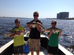 The kids getting in on the action (saltydogfishingcharters) Tags: