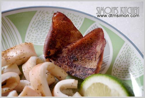 氣炸鍋烤魷魚09