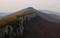 North Fork Mountain: Escarpment (Shahid Durrani) Tags: chimney mountain west forest virginia top north fork national monongahela