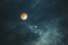 Goodnight Blood Moon (Jake And Kim Photography) Tags: moon canon eclipse blood sony goodnight lunar a7 200mm fdn