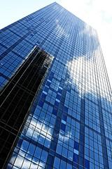 The Renaissance Tower (Benny2006) Tags: travel sky cloud reflection building us dallas tour bright tx reflect highrise canon2470f28 canon40d ranaissancetower