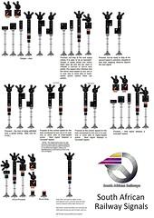 South Africa Railway Signals (Mark Vogel) Tags: railroad train eisenbahn railway signal signaux chemindefer lightsignal signale colorlightsignal signauxlumineux eisenbahnsignal lichtsignale operatingrules signalchart signaldiagram signalaspects
