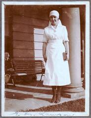 0886 Chelmer Private Hospital nurses #3 (GSofV) Tags: 1920s book uniform seat australia melbourne victoria nurse calipers chelmer gsv albumj privatehospital erlawson