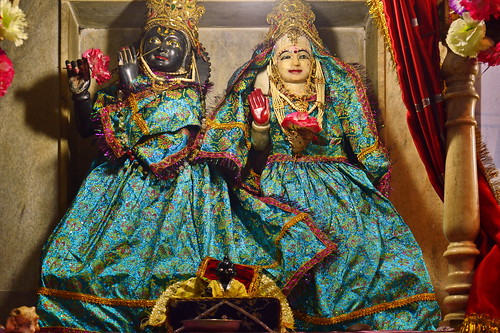 India - Uttar Pradesh - Agra - Temple - Krisha & Radha