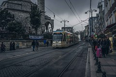 Istanbul (Syahrel Azha Hashim) Tags: tram street city publictransportation 2016 istanbul holiday simple details a7ii transportation ilce7m2 dof getaway handheld streetphotography colorimage vacation turkey light naturallight colorful people travel syahrel train prime colors sony shallow sonya7 35mm detail