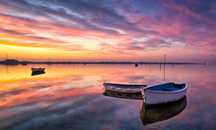 Skyfall (Solent Poster) Tags: sunrise sunset pentax k1 2470mm january 2017 emsworth harbour dinghies boats calm peaceful colour south coast uk hampshire