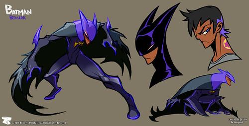 Character designer - ilustration 62 | batman berserk | bruce wein