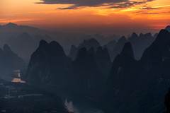 Live For Moment Like This (Anna Kwa) Tags: sunrise karstmountains 相公山 xianggonghill liriver yangshuo guilin china annakwa nikon d750 afsnikkor70200mmf28gedvrii my breath moment live always first last whatmatters heart seeing soul throughmylens travel wmh nothingelsematters luciesilvas throughherlens