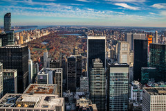 Central Park (21mapple) Tags: central park centralpark new york newyork sky skyline skyscraper city cityscape trees water river ocean sea manhattan state