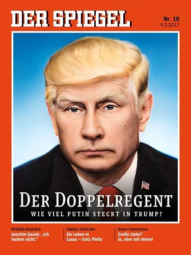 Trumputin on Der Spiegel