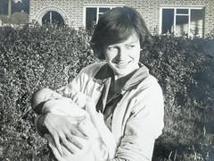 me and mum (Mark Rigler UK) Tags: mark rigler 10 days old baby mum child 1960