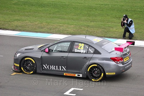 Chris Smiley during the BTCC Media Day 2017