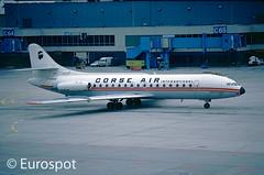 F-BVSF (@Eurospot) Tags: fbvsf caravelle corseair jet plane aircraft eddf francfort frankfurt