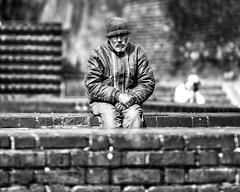 ...samotność (Marcin Krawczyk) Tags: blackandwhite portrait monochrome poland art people warszawa marcinkrawczyk