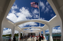 USS Arizona Memorial (michaelunderhill) Tags: world arizona hawaii harbor memorial war oahu worldwarii ii pearl honolulu uss