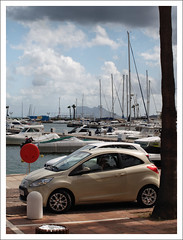 Sotogrande (Ben.Allison36) Tags: ford port boats spain daughter olympus andalucia sotogrande ka e600 rockofgibraltar