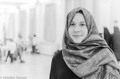 MSA hijab day (bo5alid alansari ● P2BK) Tags: ohio portrait people usa white black color college america photography ada student university interior muslim picture hijab indoor oh onu abdullah عبدالله msa بوخالد alansari الأنصاري