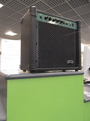 23rd May 2013 (themostinept) Tags: green london library amp guitaramp
