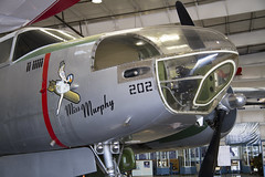 "Douglas A-26C-40-DT, ""Miss Murphy"" (Anna 666) Tags: arizona usa museum airport fighter unitedstates aircraft hangar engine planes airforce mesa sentimentaljourney warplanes missmurphy commemorativeairforcearizonawingaviationmuseum douglasa26c40dt"