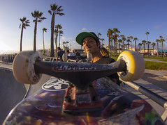grind time (JKG II) Tags: life california venice sky sun motion beach beauty kids concrete high amazing cool sand poetry paradise skateboarding action path awesome wheels line carve zen skate thrash decks lostangeles grind stunts seanjohnson jesusesteban