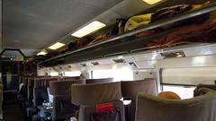 Eurostar 9022 to Paris Nord, Standard Premier Class carriage (David McKelvey) Tags: train europe carriage eurostar class standard premier on 2013 9022