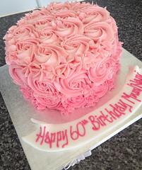 Buttercream Swirly Cake