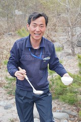 Mt. Chilbo, North Korea Camp Lunch (Joseph A Ferris III)
