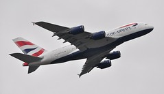 [07:15] 'BA902N' (BA0902) LHR-FRA: inaugural British Airways A380 service. (A380spotter) Tags: takeoff departure climbout airbus a380 800 800igw msn0095 firstwv006variant 15°increaseinwingtwist 573t1260000lbmtow 4tonne8800lbincreasetotakeoffweight gxlea internationalconsolidatedairlinesgroupsa iag britishairways baw ba ba902n ba0902 airberlin ber ab ab5012 lhrfra serviceentry firstrevenueflight firstcommercialservice firstbritishairwaysa380service first 1st initial tentha380operator 10th thirdeuropeana380operator 3rd runway27l 27l london heathrow egll lhr