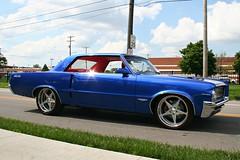 Custom 1964 GTO (osubuckialum) Tags: show blue columbus ohio classic cars car customized oh pontiac gto custom carshow 1964 goodguys 2013