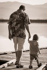 Grandpa and Me (Scott Wilson Photography) Tags: walking fishing dock toddler grandfather grandpa grandson grandparents grandchild bond