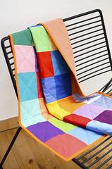Kona Cotton Baby Quilt (ellis & higgs) Tags: baby quilt squares handmade sewing charm pack cotton kona nhen handgemacht handgefertigt