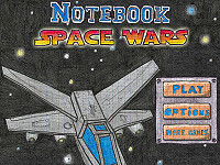塗鴉太空大戰(Notebook Space Wars)