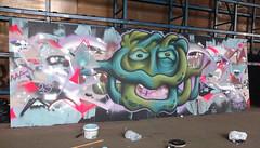 Claws + Piem (Graffgiraff) Tags: urban art norway graffiti norge spray bergen graff claws gep piem gepcrew