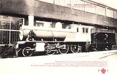 京汉铁路上使用的6轮蒸汽机车 1905 Peking-Hankow Railway