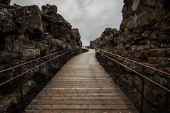 The Mystical Way (Joeywolf42) Tags: mountain mountains nature berg landscape island iceland nikon rocks stones urlaub natur north norden insel berge steine landschaft thingvellir felsen icelandic riven d90 holzweg ferienreise islndisch