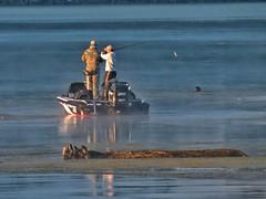 Come And Get It! (BigTonyB) Tags: fog tennessee earlymorning lakenickajack bassfisherman