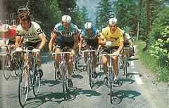 Le Cyclisme (p.004) (Lostin70s) Tags: vélo 1977 gan peugeot bp michelin carrefour tourdefrance mercier maillotjaune lecoqsportif