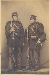 To menige fra 4. infanteriregiment (Rigsarkivet - Danish National Archives) Tags: private soldier war soldat 1864 krig menig deutschdänischekrieg zweiterschleswigscherkrieg zweiterschleswigholsteinischerkrieg