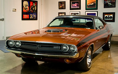 1971 Dodge Challenger R/T - Dark Tan Poly - fvl (Pat Durkin OC) Tags: coupe challenger marconi 1971dodge